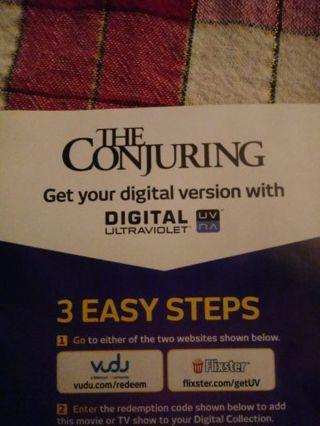 The Conjuring VUDU Code