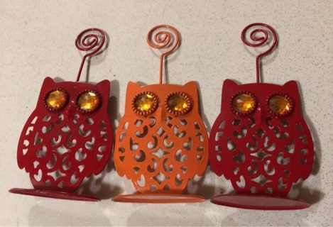 Owl Picture/Note Holders
