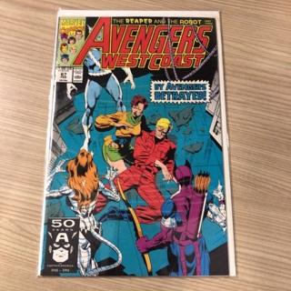 avengers west coast #67 marvel  1991
