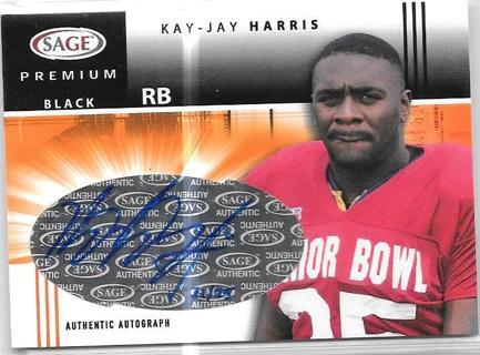 2005 SAGE Premium Portrait Autographs Black - Kay-Jay Harris