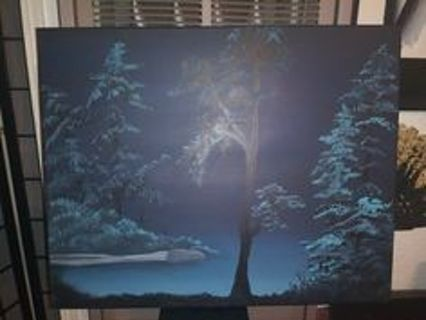 Original Acrylic Painting on Stretched Canvas