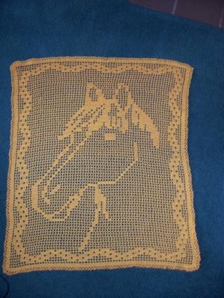 Free Miss Daisy Filet Crochet Horse Pattern Only Crochet Listia