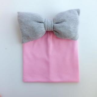Toddler infant Kids  baby cotton colorful big bow tie hat cap beanie for girls Butterfly Knot Mela