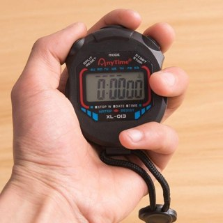 [GIN FOR FREE SHIPPING] LCD Digital Professional Handheld Chronograph Sports Stopwatch Timer