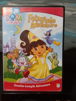 DORA THE EXPLORER ~ FAIRYTALE ADVENTURES DVD