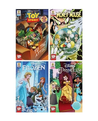 Peachtree Playthings Licensed Character Comic Books, 6.75x10.25 in.