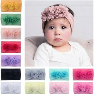 Baby Girl Headbands With Bows Perfect for Newborns/Toddl