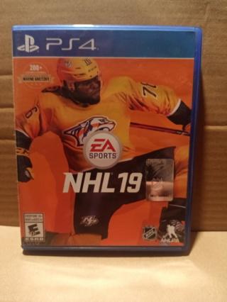 PLAYSTATION 4 ~ NHL 19