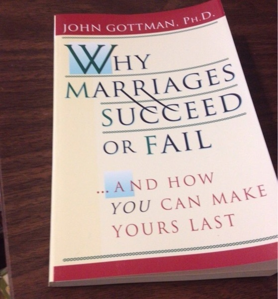 why marriages last or fail Shipping weight: 104 ounces (view shipping rates and policies) download books file now why marriages succeed or fail: and how using the information derived from these sessions, gottman concludes here that a lasting relationship results from a couple's ability to resolve conflicts through.