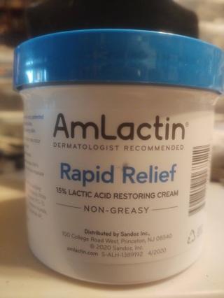 AmLactin Rapid Relief Lotion 12oz