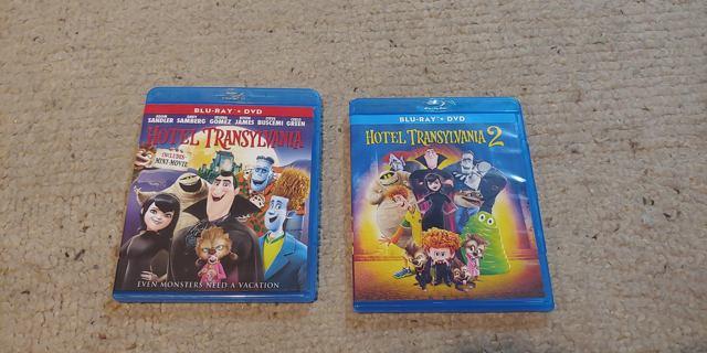 Hotel Transylvania 1 + 2 Blu-Ray