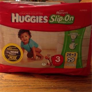Full Package of Huggies Diapers