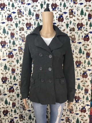 1 PEA COAT JACKET WOMEN'S CLOTHING PEA COAT READ FIRST Muscato