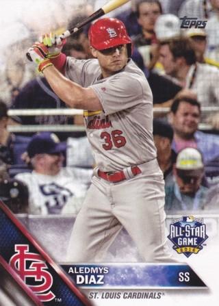 Aledmys Diaz 2016 Topps Update All-Star St. Louis Cardinals