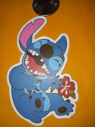 Stitch Cool new big vinyl lab top sticker no refunds regular mail only no lower