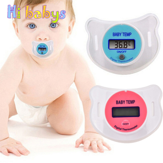 Baby Safety Digital Silicone Nipple Thermometers LCD
