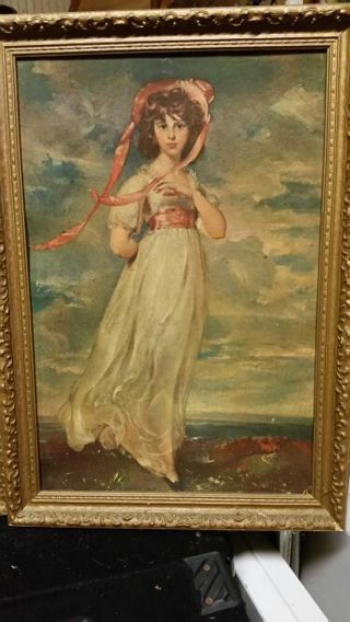 19th Century Young Lady
