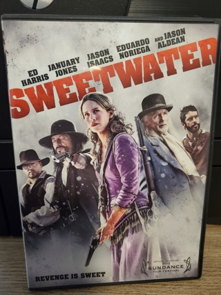 """DVD - """"Sweetwater"""" - rated R"""