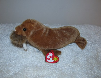 Free  Ty Beanie Baby Paul the Walrus named after the Beatle s ... 793e0250a4d