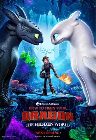 How to train your Dragon 3 the Hidden World 4K digital movie code from 4K Blu-ray