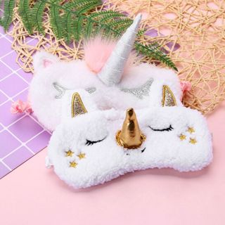 [GIN FOR FREE SHIPPING] Cute Sleep Unicorn Mask Eye Shade Cover