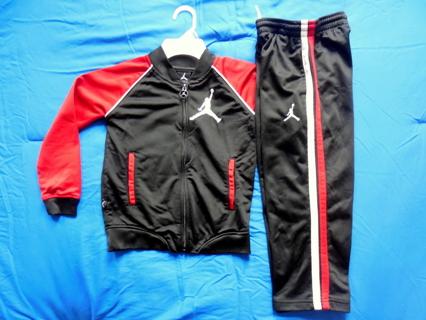 e68b6debd27c6b FREE  Kids Toddler Michael Jordan Sweat Suit Warm-Ups Jacket   Pants Size 5  (Free Shipping)