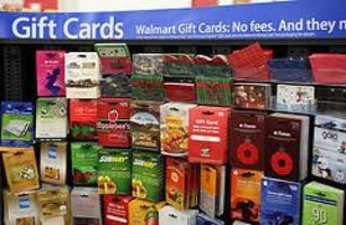 35$ WalMart, eBay, or AMAZON e-card gift card, VERY LOW GIN! FREE!