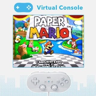 free paper mario online game code wii virtual console code