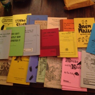 25 very old Play Books