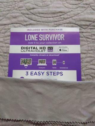Digital Movie Code: Lone Survivor