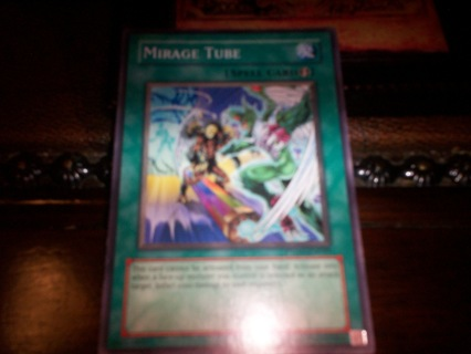 new yu-gi-oh mirage tube spell card