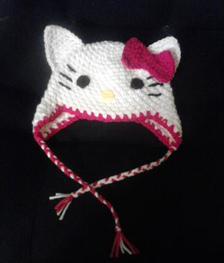 Free Hello Kitty Crochet Hat Not Just A Pattern Crochet