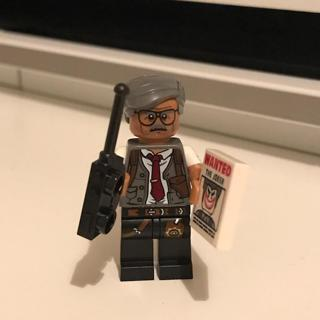 New Commissioner Gordon Minifigure Building Toys Custom Lego