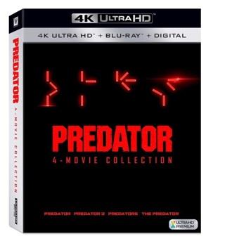 Predator 4 Movie Collection • UHD Instawatch Digital Copy