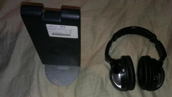 Wireless Headphone setup for TV ,etc