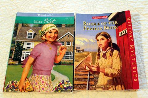 Lot of (2) American Girls books