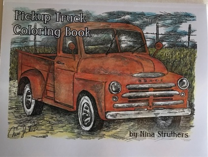 PICKUP TRUCK COLORING BOOK BY NINA STRUTHERS