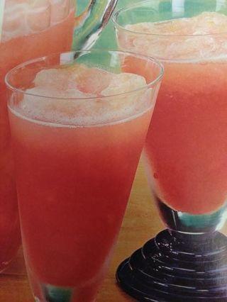 Rhubarb slush punch recipe