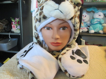 Super Cute Warm  hat  Double Headed Animal Hat=Free Shipping