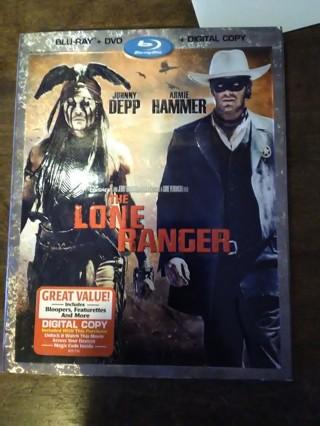 The lone ranger blu-ray DVD combo