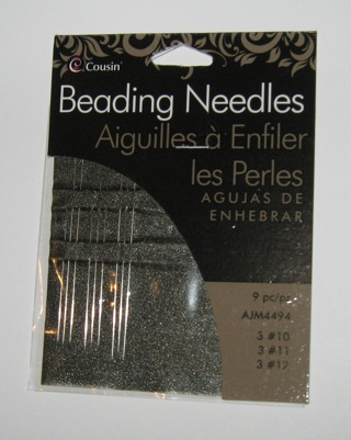 BEADING NEEDLES BY CREATE COUSINS!! NEW!!