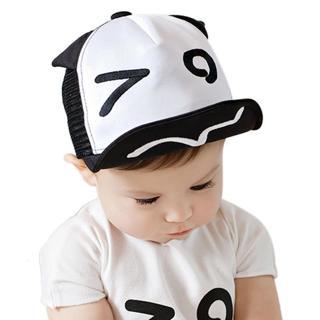 Baby Hat for Kids Boy Girl Baseball Cap Eyes Ears Style Infant Children Mesh Hats Adjustable Snapb