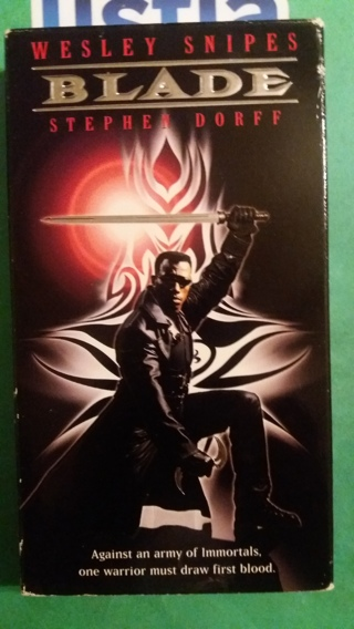 VHS movie  blade  free shipping