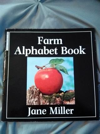 """""""Farm Alphabet Book"""" Paperback Book -- NEW!!"""