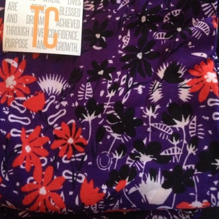 NWT TC Lularoe Floral Leggings