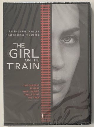 The Girl On The Train DVD Movie - Brand New Factory Sealed