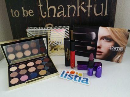 Urban Decay Gwen Stefani Palette & Mac Brush Set & Lipstick☆°•●☆