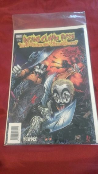 free icp insane clown posse comic book from 1999 vintage