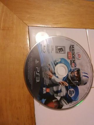 USED Ps3 madden 25