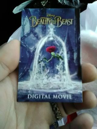Disney's live action Beauty and the Beast digital copy